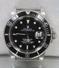 Rolex Submariner Stainless Steel Black Dial 16610 - No Reserve! w/ Papers!