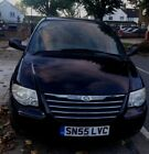 Chrysler grand voyager 28 ltd xs stow n go 55 reg 2005 black