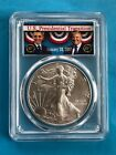 PCGS MS70 2017 TRUMP OBAMA Silver AMERICAN EAGLE Dollar 1 Coin 1oz