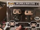 Funko Pop! Game of Thrones Bran Stark and Jon Snow 2-PACK BAM! EXCLUSIVE