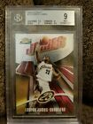 2003-04 TOPPS Finest Lebron JAMES Rookie # 999 BGS 9 RC Maybe PSA 10 ? Non auto