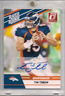 2010 Donruss RATED ROOKIE Tim Tebow Auto Autograph 15 HARDEST CARD TO FIND MINT