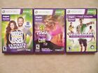 3 XBOX 360 Kinect fitness games Biggest Loser Zumba Core YourShape