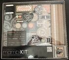 Me  My Big Ideas BOX 79 Box Album Kit 12X12 Lacey Charm Scrapbook Photo Mambi
