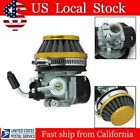 Mini Two Stroke Engine Carburetor W Air Filter for Motorcycle Motorized US BB