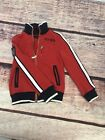 Tommy Hilfiger Toddler Boys Red And White Zipper Jacket XS 4 5