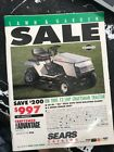 Vintage Sears Lawn  Garden Catalog December 1993 75 Pages Good Condition