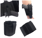Ankle Holster For Glock 26 27 40 42 43 Right left hand Black Smith Wesson Ruger