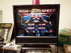 Williams High speed Pinball Machine Great Shape. good solid condition