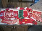 Vintage  14  1950s Christmas Stocking Found In Old Estate Great Collection