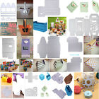 12 Styles Gift Box Cutting Dies Stencil Scrapbook DIY Paper Card Craft Embossing