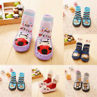 Baby Infant Toddler Girl Boy Anti Slip Socks Moccasins Shoe Slipper Winter warm