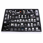 52 PCS Domestic Sewing Machine Foot Presser Feet Set for Brother Singer Janome