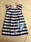 NWT Gymboree Toddler Girl Short Sleeve Butterfly Dress Size 5t