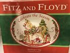 Fitz And Floyd Celebrate The Season Sentiment Tray Christmas Holiday Plate