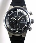 Pre-owned IWC Aquatimer Steel Divers Chronograph  Ref:IW3719-33 box