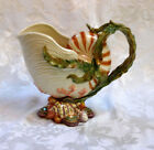 Fitz and Floyd Oceana Nautilus Serving Pitcher 9 1/2 Inches Tall