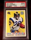 2015 Topps - 60th Anniversary - Eric Dickerson - PSA 10 - Gem Mint - Pop. 1 !!