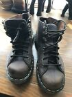 NEW VNTG Dr Martens DOC Brown Leather Ankle Boot 8A32 Mens US 5 UK 4 EU 37