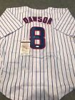 ANDRE DAWSON AUTOGRAPHED SIGNED CHICAGO CUBS JERSEY JSA COA