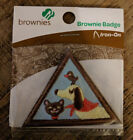 Girl Scout badges patches Brownies Pets badge patch