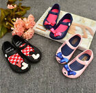 Hot Children Kids Girl Toddler Cartoon Cute Mouse Butterfly sandals Jelly Shoes