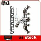 Stainless steel Exhaust Manifold  Gasket Kit for 91 99 Jeep Cherokee L6 40L