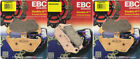 EBC HH FA407HH Front & FA363HH Rear Brake Pads Set - BMW R850C, R1100GS, R1200C