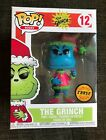 The Grinch Chase Blue POP Vinyl Figure #12 Funko Dr. Seuss New Limited Edition