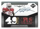 KENDALL HUNTER 2011 Panini Limited Phenoms RC patch auto 299