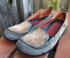 Clarks Privo brown suede leather loafers 75 M style 76592