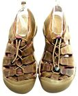 Keen Newport Brown Purple Leather Hiking Sandals in Womens 11