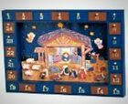 Wooden Nativity Advent Calendar Christmas Xmas Decoration Children Kid Fun Joy