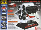 Hawk 1/6 scale Dodge SRT-8 DIecast Engine Kit-No. 11071-MINT IN THE BOX.