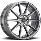 18x8 Gunmetal Big Bang BSP31 Wheels 5x110 +42 Fits Saturn Sky Aura L300