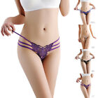 Hot Sexy Cotton Womens Panties Solid Cute Butterfly Women Underwear Thongs New