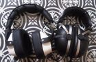 Vintage White Zenith & SE-305 Pioneer Over Ear Headphone Lot Coiled Cable TESTED