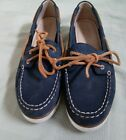 Sperry top sider womens Nubuck with leather laces MINT