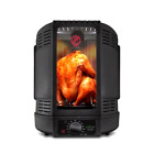 New ! NutriChef Vertical Countertop Rotisserie Rotating Oven (Black)