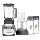 New ! Velocity Ultra Trio Blender/Food Processor with Travel Cups, Aluminum