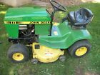 John Deere 111 With mower deck and snow plow