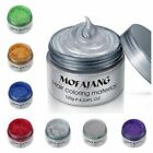 US Unisex DIY Hair Color Wax Mud Dye Cream Temporary Modeling 7 Multi Colors