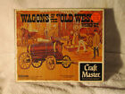 Craft Master WATER WAGON Authentic Scale Wood Model Kit Rare