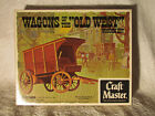 Craft Master DELIVERY WAGON Authentic Scale Wood Model Kit Rare