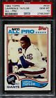 1982 Topps Football Lawrence Taylor ROOKIE RC #434 PSA 10 GEM MINT