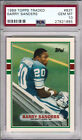 1989 Topps Traded BARRY SANDERS Rookie RC GEM MINT PSA 10