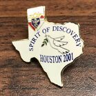 Knights Of Columbus Houston Texas 2001 Spirit Of Discovery Tack Pin