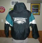 Philadelphia EAGLES Vintage Pullover Winter Jacket Coat MENS SZ LARGE Starter