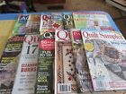 Group of 12 Quilting Magazines Free Shipping