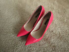 Shoemint patent neon pink leather pumps style is Kaylen size 9M with 4 heels